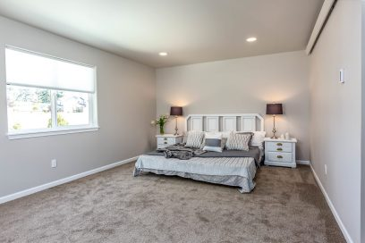 Spacious master suite with natural light, spacious walk in closet, & gorgeous bath...