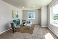 Three bedrooms AND a bonus space! 2nd family room, craft & play area, home office...or 4th bedroom...we have whatever you need!